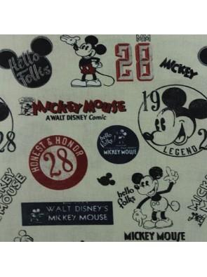 Tejido Vintage Mickey -A