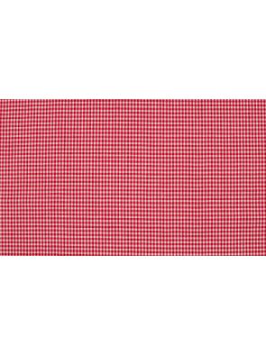 Tejido algodón rojo